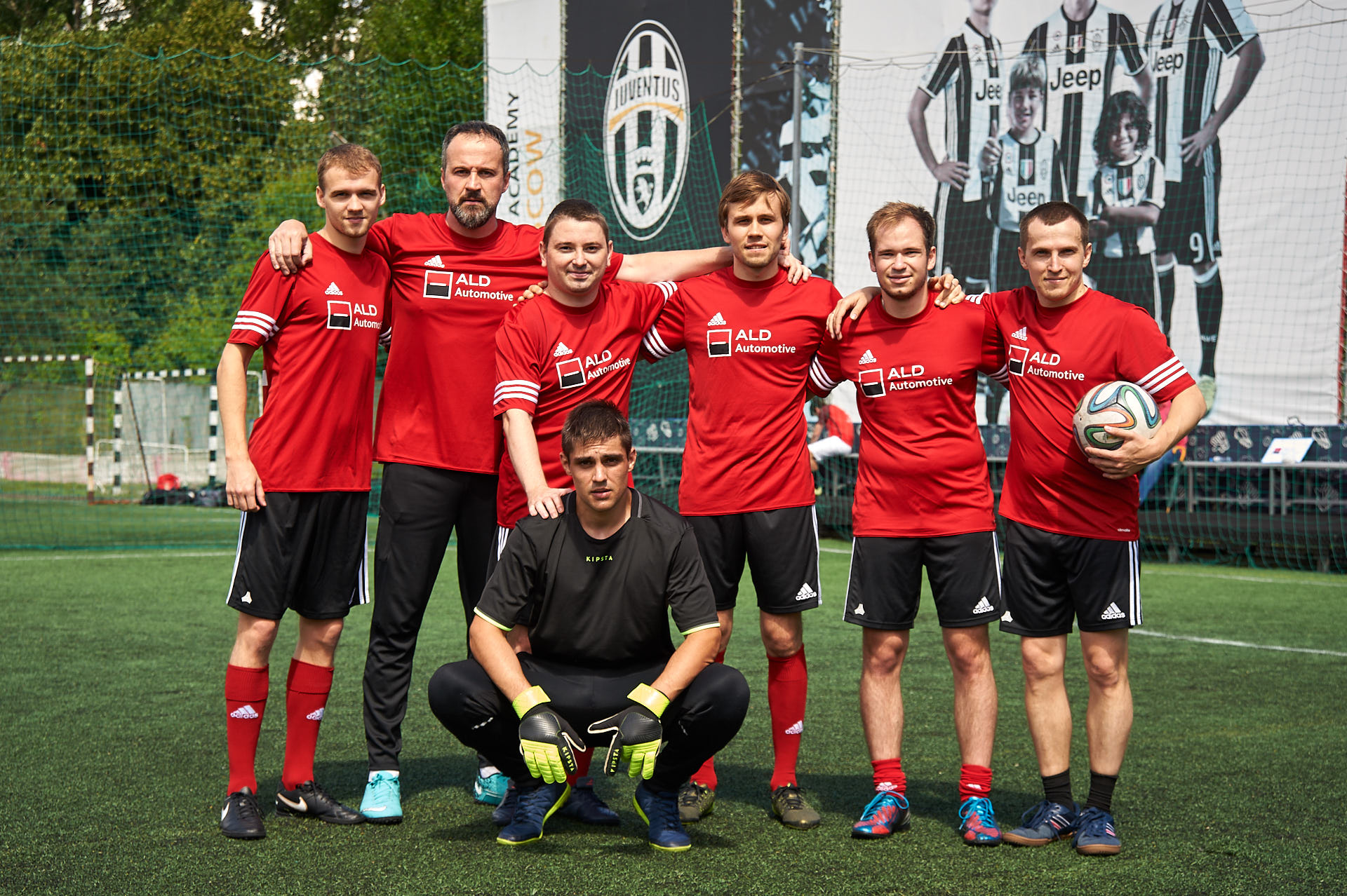 ALD Automotive organized the second annual football tournament among its clients!