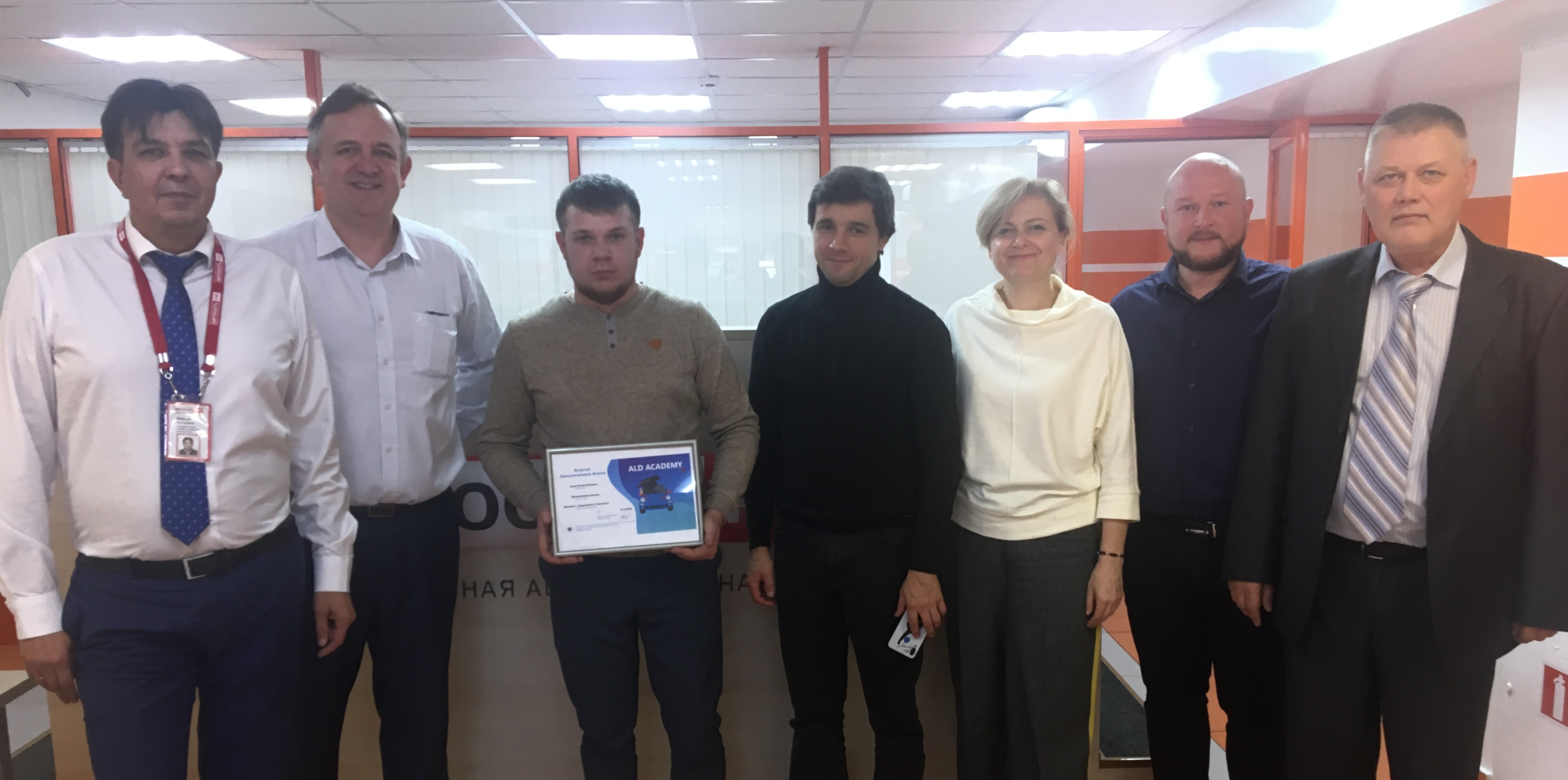 First certification of logistic partner took place